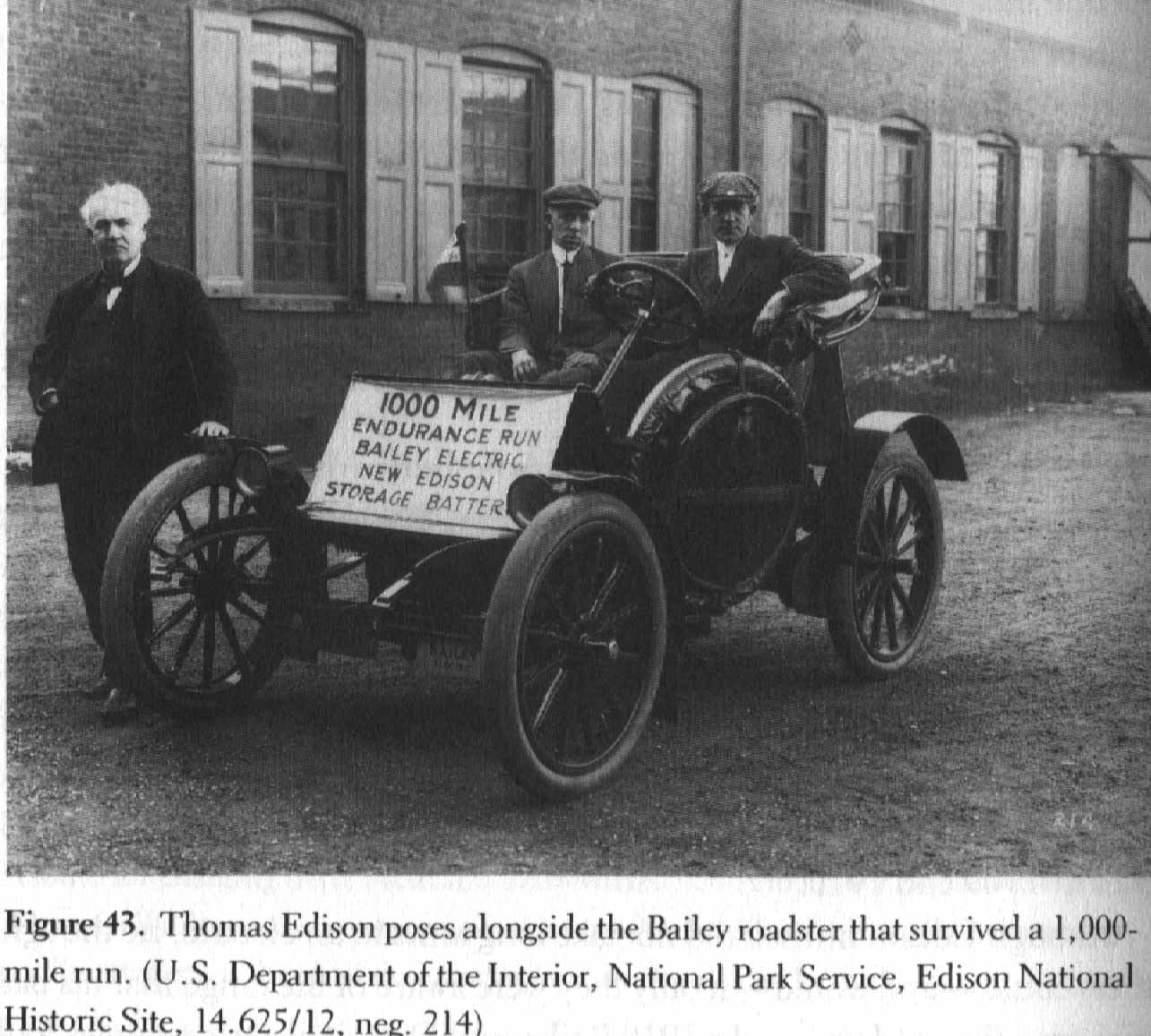 Edison, hype and electric cars | Only Eleven Percent